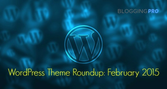 WordPress Theme Roundup: February 2015