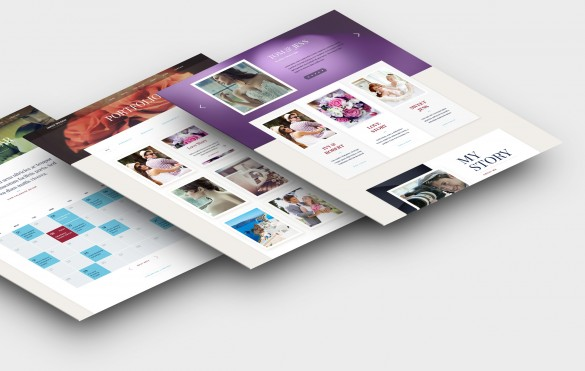 Exposure WordPress Theme Layouts
