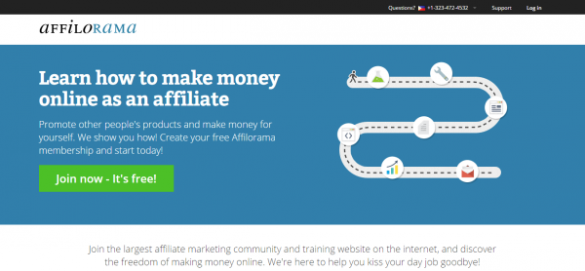 Affiliate Marketing Training  Software   Support   Affilorama
