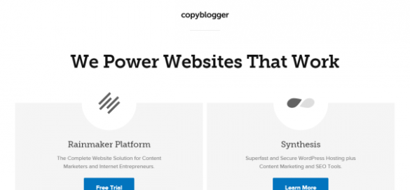 Content Marketing Solutions from Copyblogger
