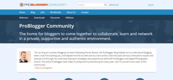 ProBlogger Community