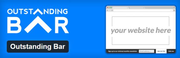 WordPress › Outstanding Bar « WordPress Plugins