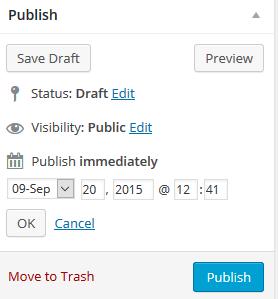 Productive blogging