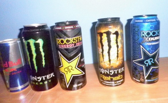 case energy drinks