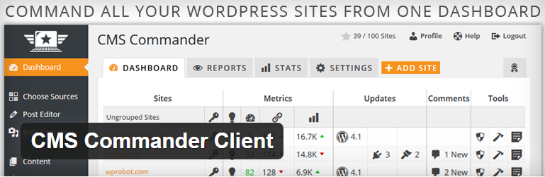 WordPress › CMS Commander Client « WordPress Plugins