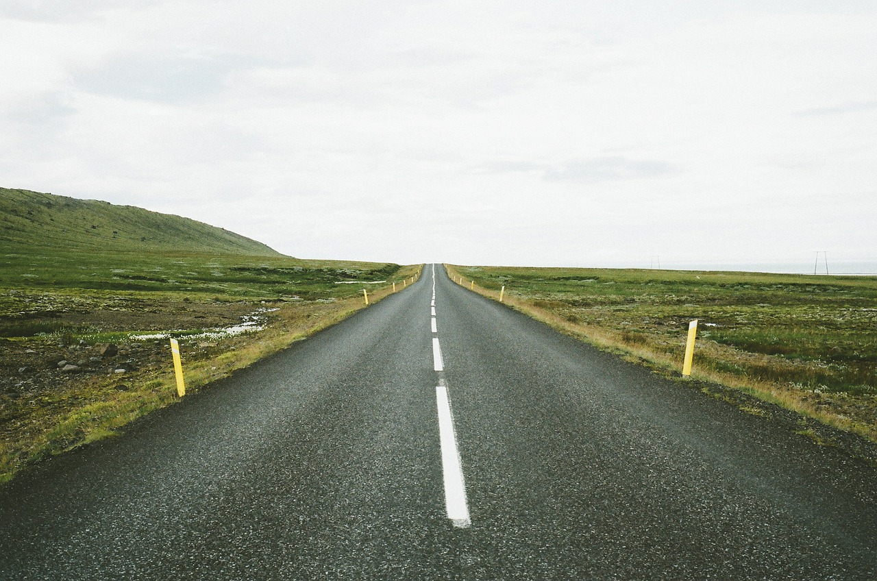 highway thin line