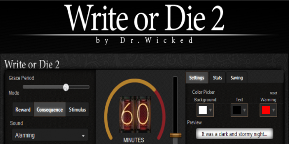 Write or Die 2 Review: The Perfect Cure for Writer's Block