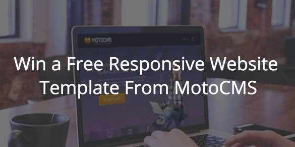 Win a Free Responsive Website Template From MotoCMS