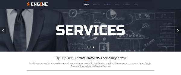 free website from MotoCMS