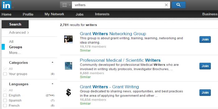 linkedin groups traffic