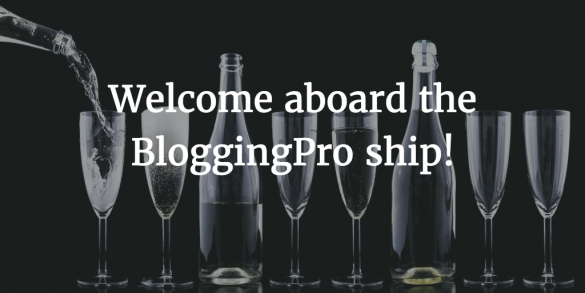 bloggingpro newsletter