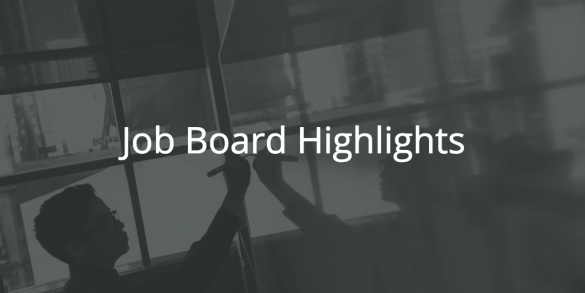 BloggingPro Job Board Highlights, August 28, 2017