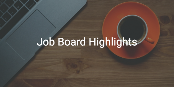 BloggingPro Job Board Highlights, September 25, 2017