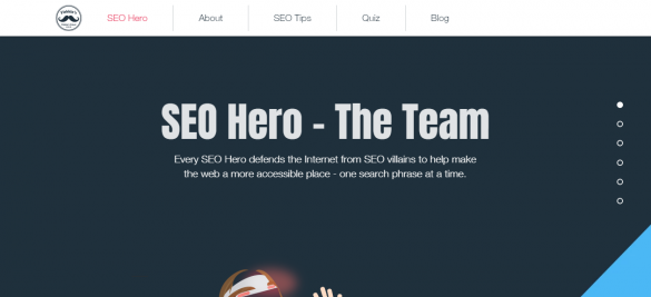 "The ""SEO Hero"" Knows How to Blog"