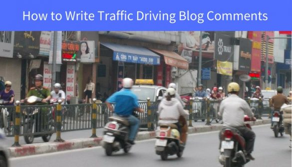 write blog comments