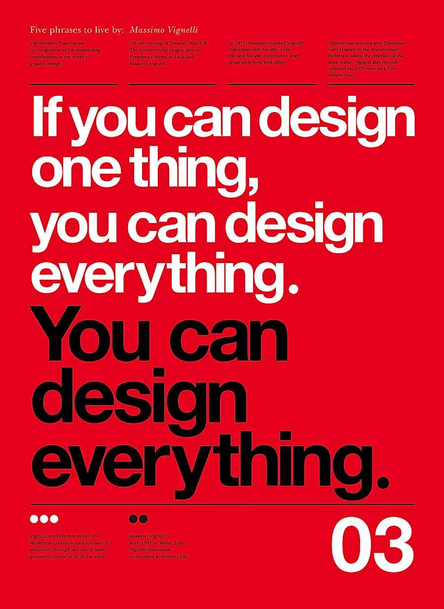 15 Outstanding Typographic Poster Designs | BloggingPro