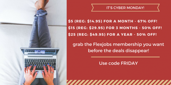 Flexjobs coupon code