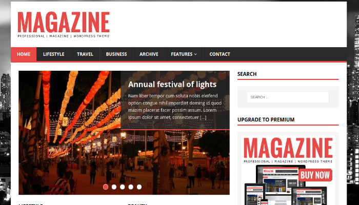 free magazine WordPress themes