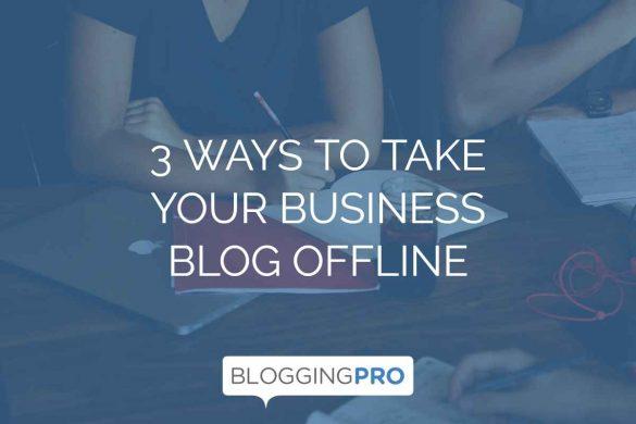 Blog Offline