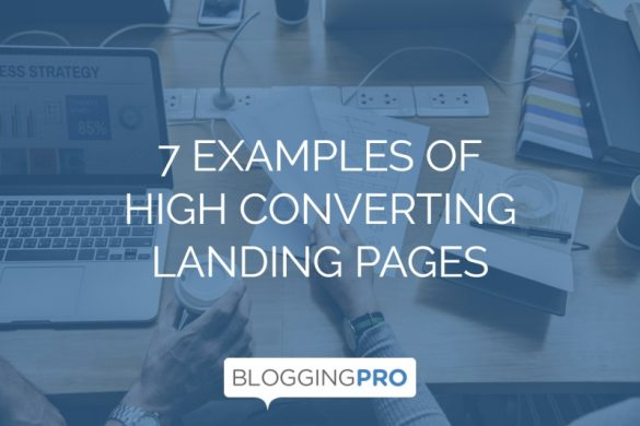 Examples of High Converting Landing Pages