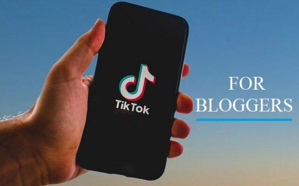 promote blog on tiktok