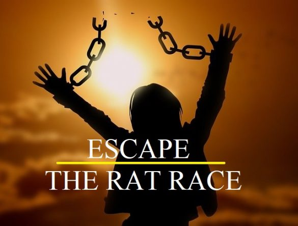 escape the rat race in 2021 as a blogger