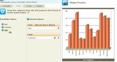 Widgenie: Helping Bloggers Visualize Data