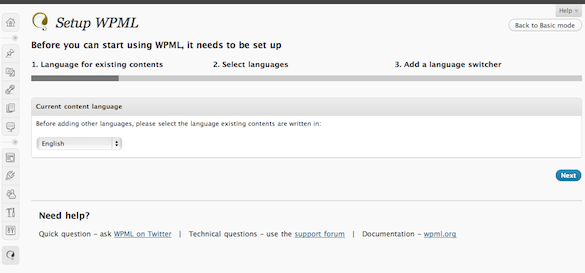 Publish Your Blog In Multiple Languages With WPML Plugin For WordPress