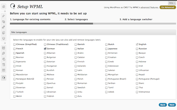 Publish Your Blog In Multiple Languages With WPML Plugin For